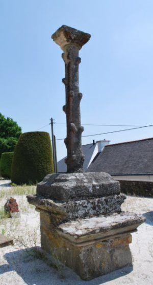 Calvaire de l'ancien cimetière, Bieuzy-Lanvaux / Kroaz, bered kozh Bizhui-ar-C'hoad
