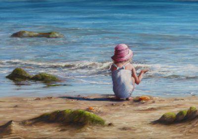 Corinne Caillé la danse des vagues